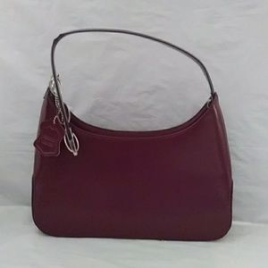 Classic Red Leather Bag